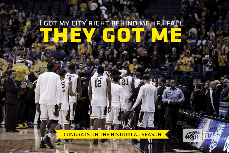 Twitter / WichitaStateTV: Congratulations, #Shockers ...
