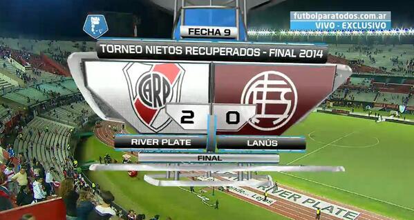 4ème but en 8 matchs pour F. Cavenaghi avec River Plate