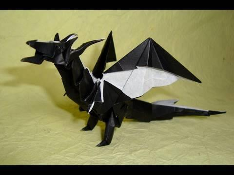 Origami Fiery Dragon Instructions ( Kade Chan) How to fold: http://t.co/oFU1oP7zlu  http://t.co/iHZewfidfN