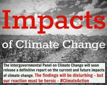 Twitter / GreenpeaceAustP: Climate change is happening ...