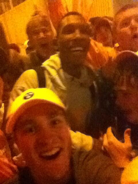 Selfie with @J_Rich1 who killed it tonight for the Vols! #TougherBreed #GoVols http://t.co/opQLdJVqjn