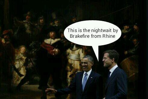 Tweet van de dag! RT @MTTCW: Obama and Rutte in the #Rijksmuseum  #NSS2014 http://t.co/HOiRsOAaks