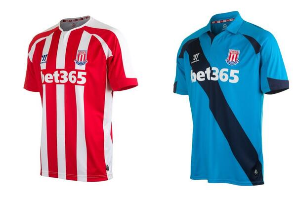 Pic: Stoke City's new Warrior jerseys for next season