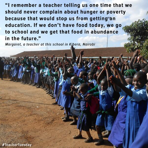 Find out what it's like to teach in a slum - join us& Margaret from Kenya for tweetchat tomo 1-2pmGMT #TeacherTuesday http://t.co/4hB5zRNH2U