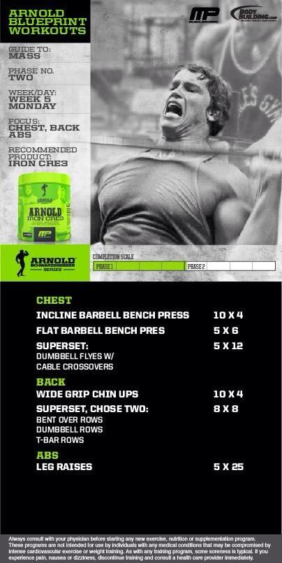 Musclepharm on twitter arnold blueprint to mass workout at musclepharm on twitter arnold blueprint to mass workout at bodybuildingcom phase 2 chest back and abs powered by ironwhey httptxe05rumk92 malvernweather Choice Image