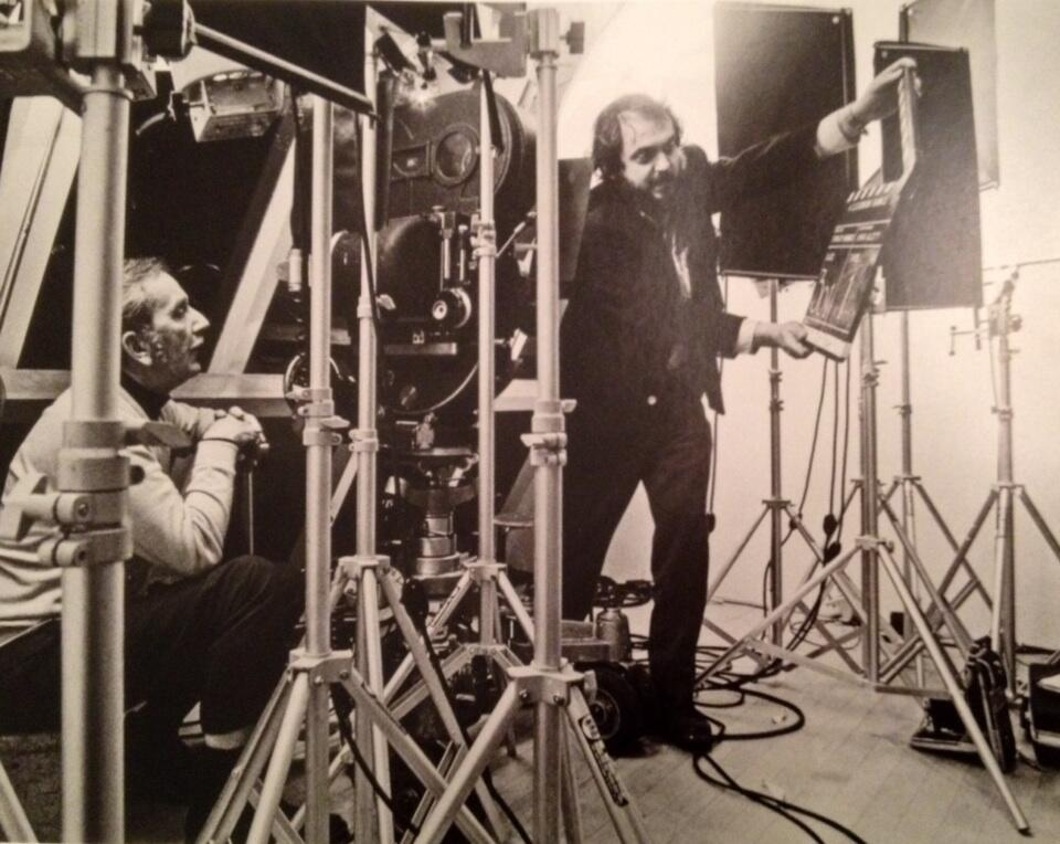 Twitter / SK13movie: Kubrick mans the clapper on ...