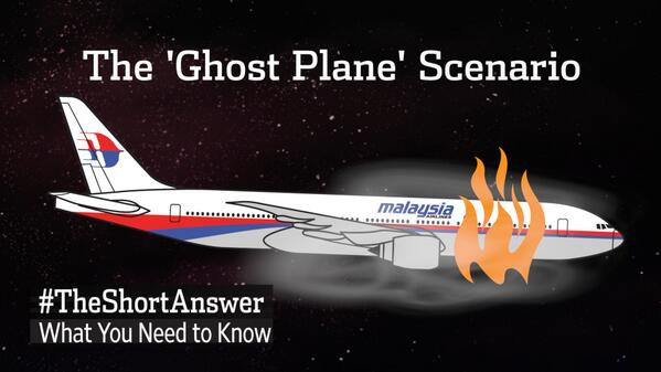 Watch: Was #MH370, by the time it reached the Indian Ocean, a 'ghost plane'?  http://t.co/qM153rlBwz http://t.co/ANAp48EUmA