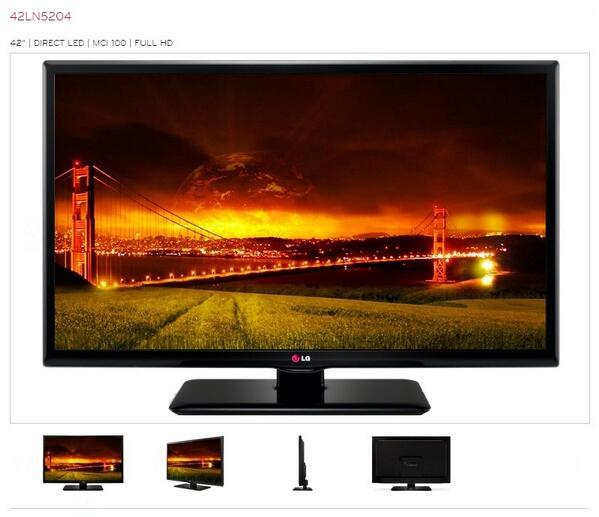 TWITTER ONLY ACTIE! Op vertoon van deze tweet €299 voor een 107 cm LG LED TV 42LN5204! Alleen bij MM Heerlen! http://t.co/u8oCUML6uq