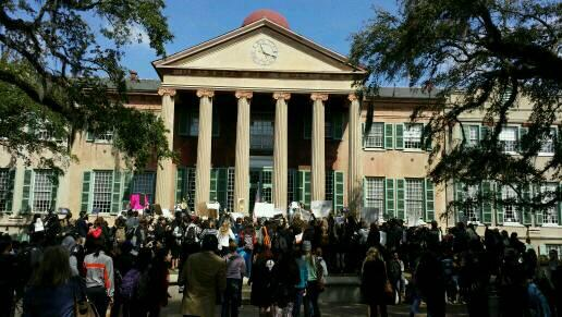 #cofc students protesting #mcconnell appointment http://t.co/clgkO6yPpP