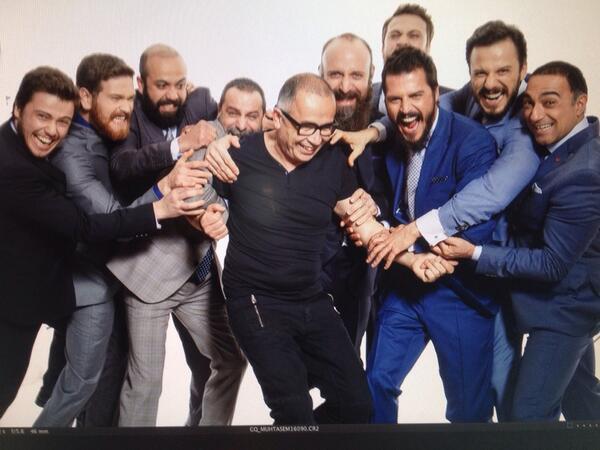 Muhtesem yuzyil erkekleri bogmaya alismislar!! GQ cekerken  gume gidiyordum!!! :-)) http://t.co/MdRooroMhI