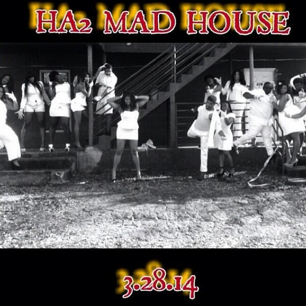 The Patients of The Explosive C4 Bomb Squad MAD HOUSE! Have escaped come see them 3.28.14 LEE HALL! http://t.co/pqGJ7zY1wq
