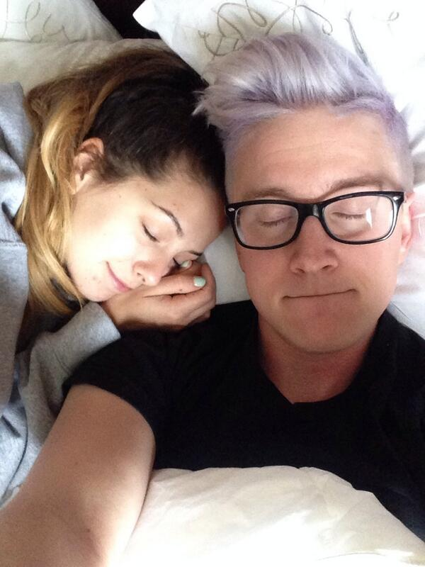 """Zoella And Tyler Oakley Tyler and Zoey """"W..."""