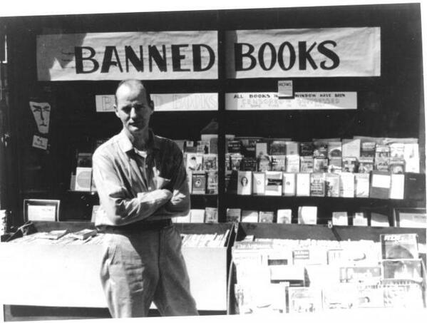"City Lights Books on Twitter: ""Lawrence Ferlinghetti turns 95 today & we're  celebrating all week long #poetry #banned #milestone http://t.co/ZjTmFLyv2i"""