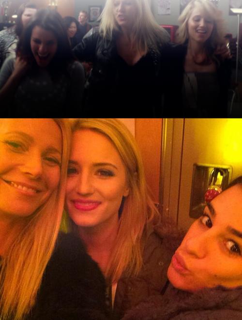 "Gwyneth Paltrow on Twitter: ""Locker chats in the #glee ... Gwyneth Paltrow Twitter"