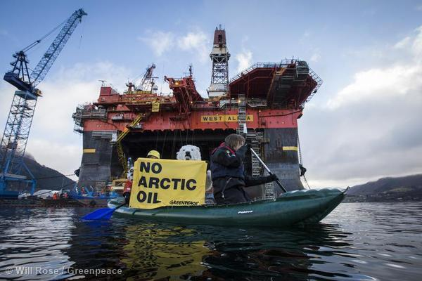 Twitter / GreenpeaceAustP: Dear oil companies, this is ...