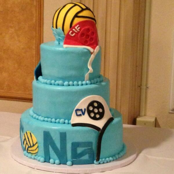 Usa Water Polo On Twitter What An Awesome Water Polo Cake Rt If