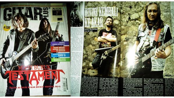 Guys, beli yuk @GitarPlus edisi Maret, ada interview @heyckel & Ucokk, dan banyak berita seru lainnya \m/ http://t.co/4fZ1i8MQ3k