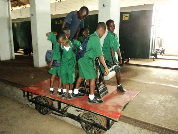 @railwaymuseum Thanks: Can we have 2nd #mymuseum object?! Here's the ONLY train that public can ride in Sierra Leone! http://t.co/cWN4wz2ver