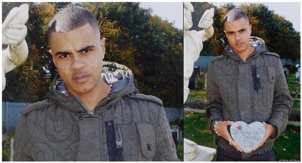 "Perfect eg the ""menacing"" photo of Mark Duggan widely used by the media was CROPPED he was at his daughters grave http://t.co/1iFV2tZSxz"