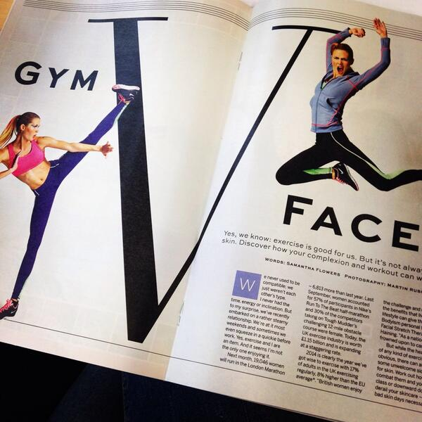 This weeks feature tackles Gym Face feat @teganhaining @bodyism @tim_weeks @psyclelondon @Skinesis @DrStefanieW