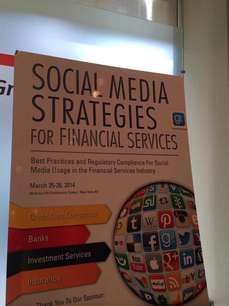 Twitter / JoyceMSullivan: Great day talking social media ...