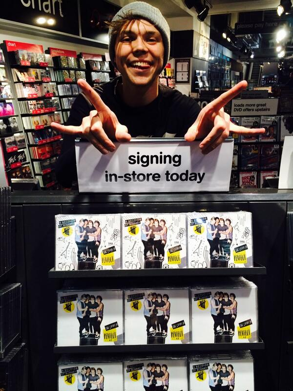 You can find this guy trying to steal all of our EPs in hmv stores around England. http://t.co/ItZTCQBtxM