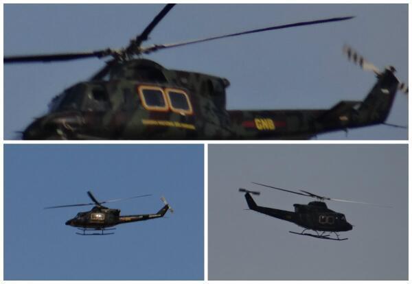 #25M a las 4:15 pm nuevamente helicóptero sobrevolando La Churuata y Los Mangos. http://t.co/VlM9EruqDh
