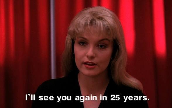 Hoy, 25 de marzo, es el día que Laura Palmer y el Agente Cooper llevan 25 años esperando http://t.co/i7HrN2Hycu http://t.co/vl4PC5yi7X