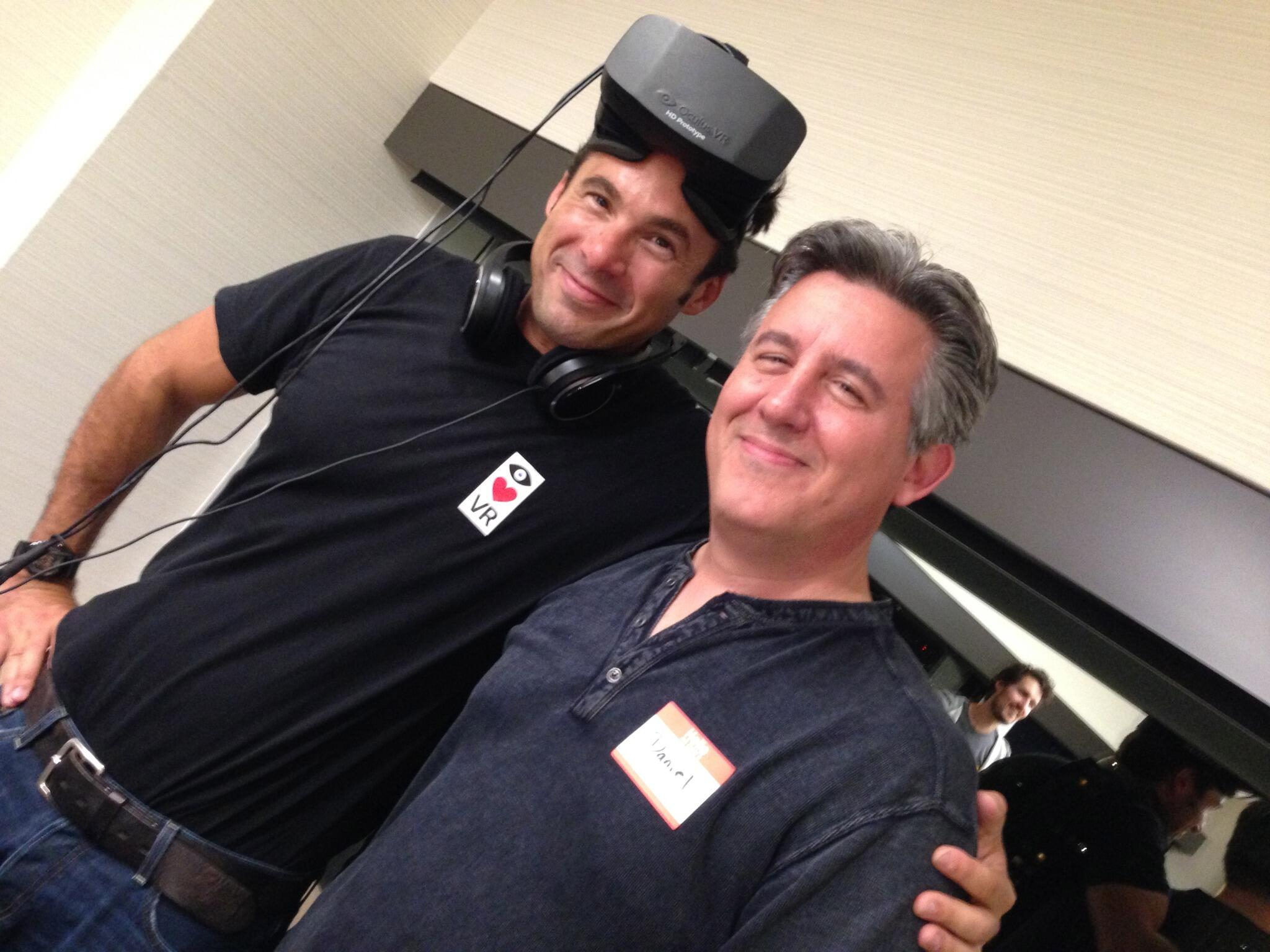 Twitter / BostonVC: Antonio with Occulus Rift - ...