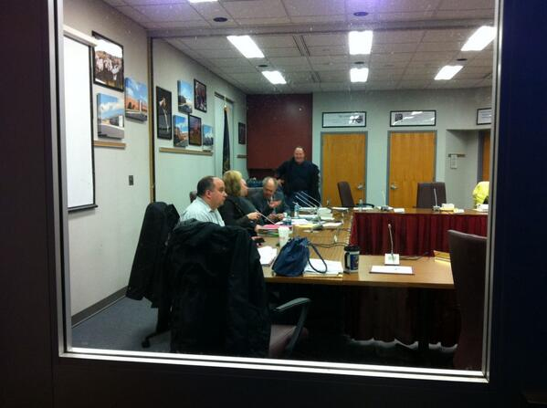 The #Pottsgrove School Board meeting is about to get underway. http://t.co/sMmgRLxgZI