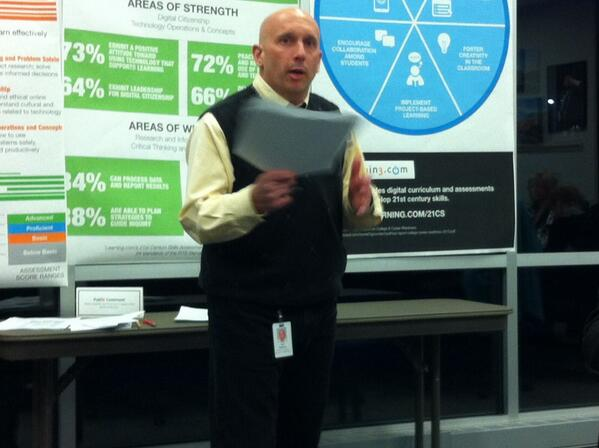 #Pottsgrove Athletic Dir. Gary DeRenzo presents the district's $123K budget plan. it is 1.6% of operating budget. http://t.co/iFm9O2FBFR