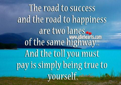Twitter / JoyAndLife: The road to success and the ...
