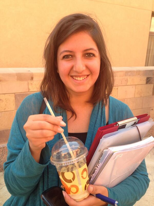 """Public speaking,"" says Farida Hemeida, ""I get really nervous to the extent I run out of words."" #JRMC202 http://t.co/aF3Jzmr7Ou"