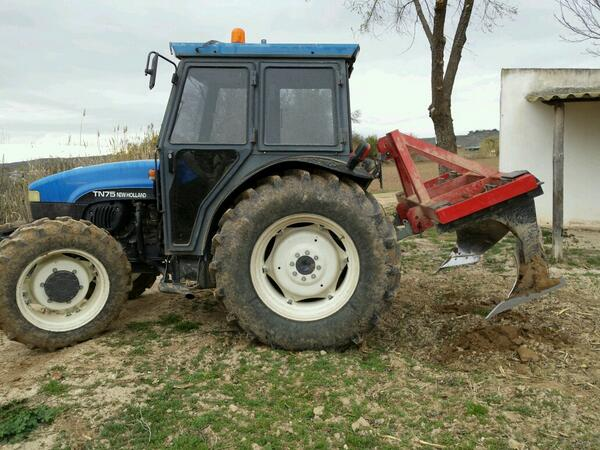 New holland Tn 75 manual on