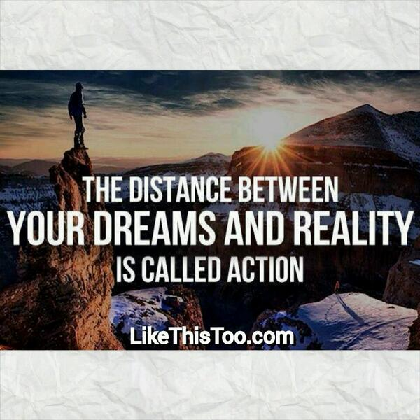 #GoodMorning #quote #action #dreams #motivation #inspiration #mindset #success #business >> http://t.co/KgXl5zHhay << http://t.co/ZIk8poSlL1