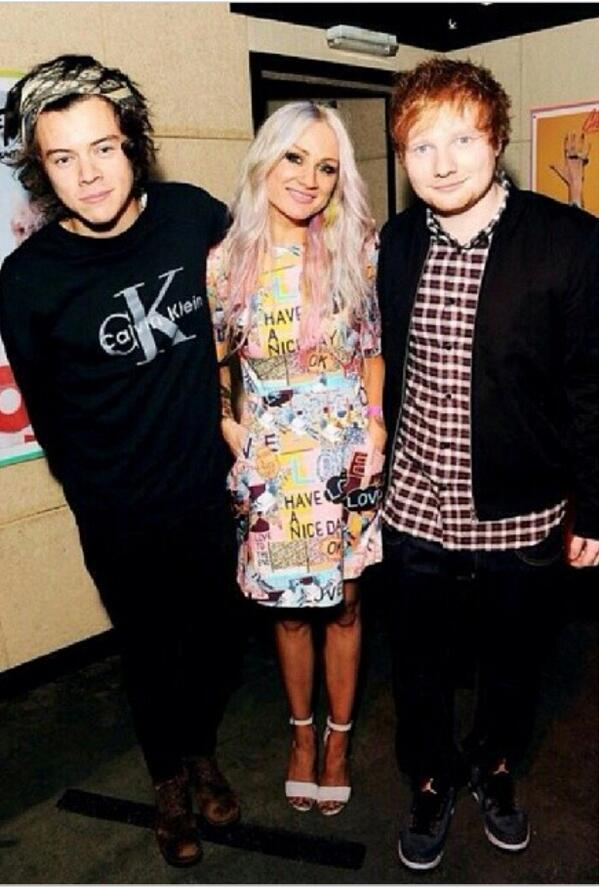 LOVE @louteasdale in @markuslupfer AW14 @ her book launch last night #louteasdale #harrystyles #edsheeran #thecraft http://t.co/5WhMlCIaGU