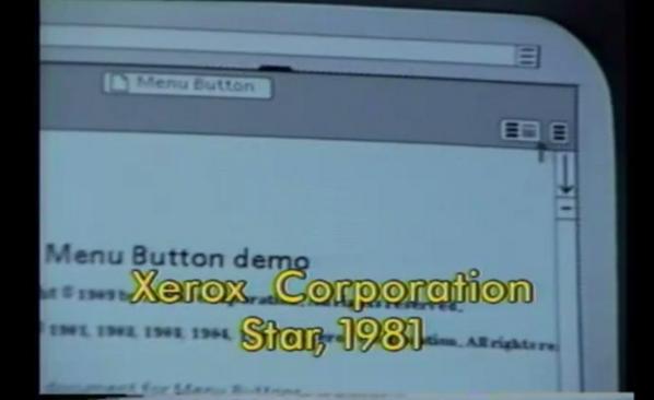 Where did the hamburger menu icon originate? Xerox, circa 1981.  Nice find @geoffa http://t.co/hudP0lBAhz