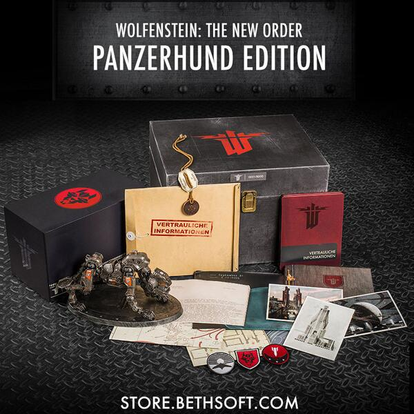 Wolfenstein: The New Order Panzerhund Edition