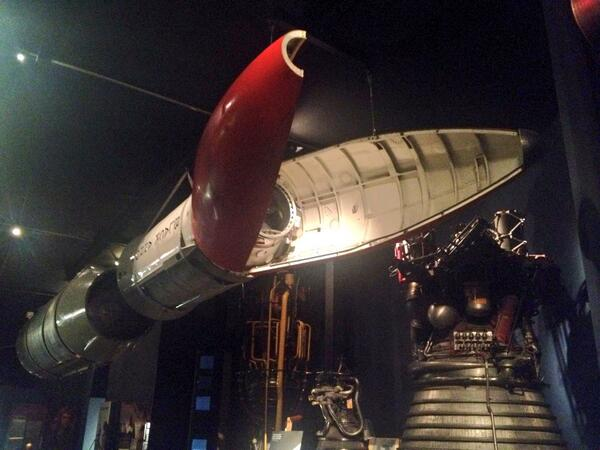Which @sciencemuseum object would I have in #MyMuseum? It has to be this awesome British rocket http://t.co/E4AyNMjXau
