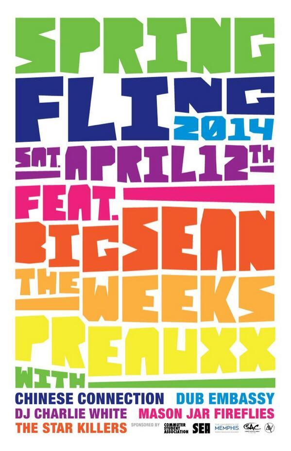 You ready Memphis? Performing at #SpringFling2014 with @BigSean @PreauXX and more. cc @uofmemphis @deltavibe http://t.co/p9voAoJPTe