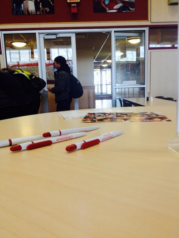 We're here 11-1. Caf and SNAR. Come sign a postcard (or 5) for a member of #Dson2018! http://t.co/d81UklQW9g