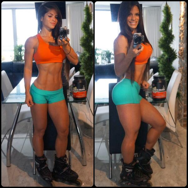 Picate @eva_andressa RT @Michelle_Lewin Always on the roll... Mi cardio preferido http://t.co/ACmcnf0Udq