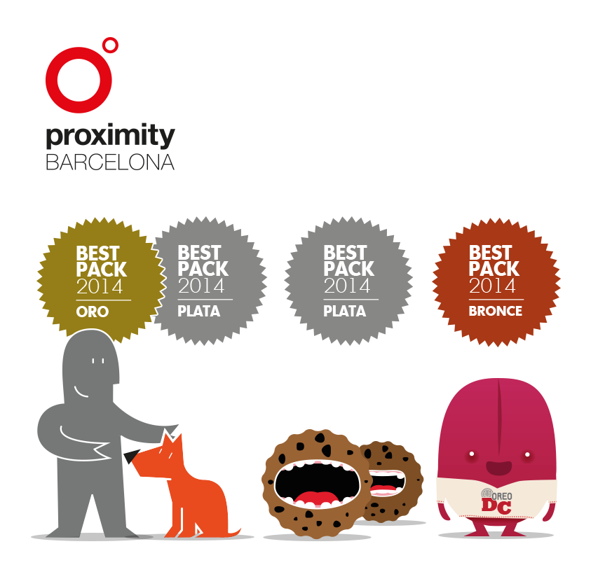 Premios Best Pack 2014 Proximity Barcelona