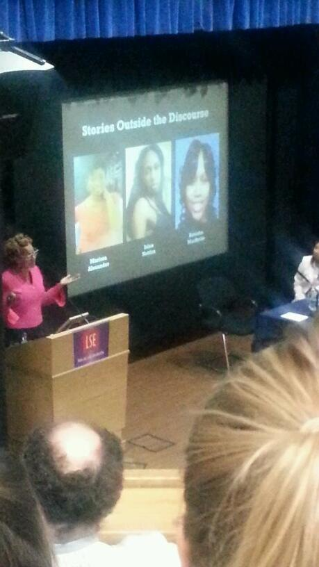 Some women unjustly killed and forgotten by society. #LSECrenshaw http://t.co/LxZVtv2U7e