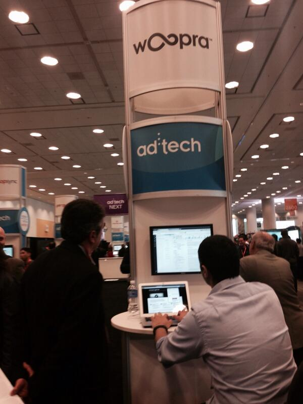 Who else is at #adtechsf? Stop by our booth - right in front of the NEXT stage! http://t.co/trjeCEOdaA