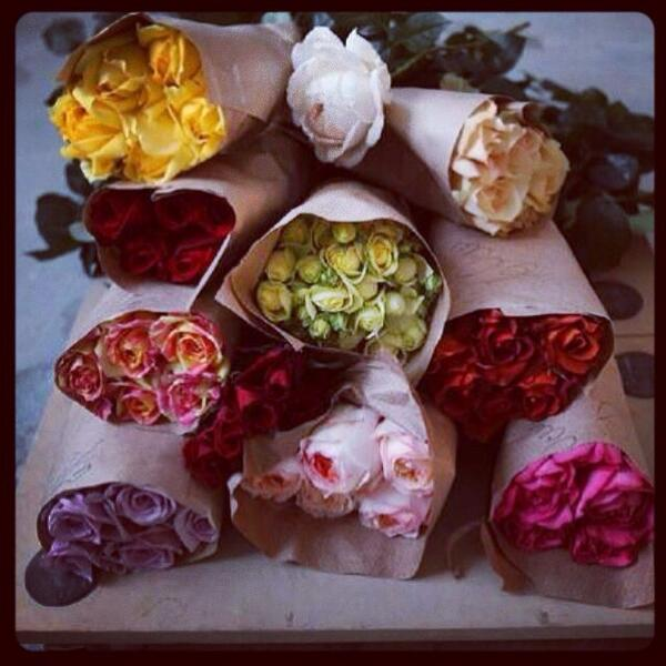 Such a beautiful selection of roses