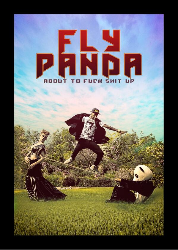 Look out world!!  Here comes Fly Panda...  Photo by PaPaJoe http://t.co/X5GDlotyvF