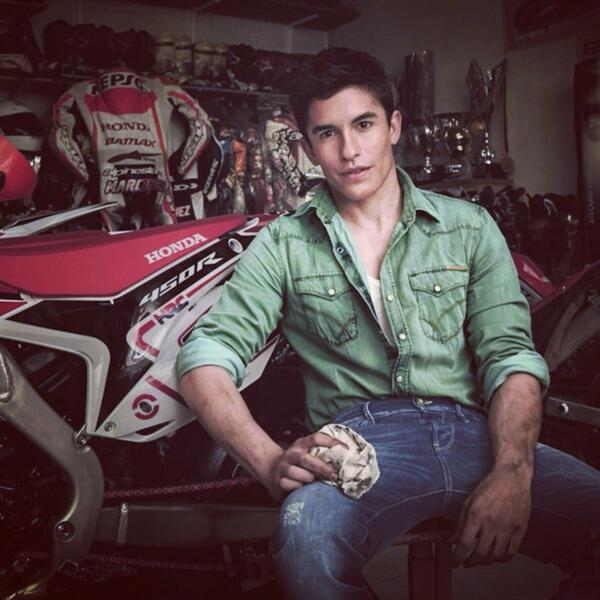 @marcmarquez93 in a new @gasclothing advertising! #gashonda http://t.co/GHtXwuZEx7