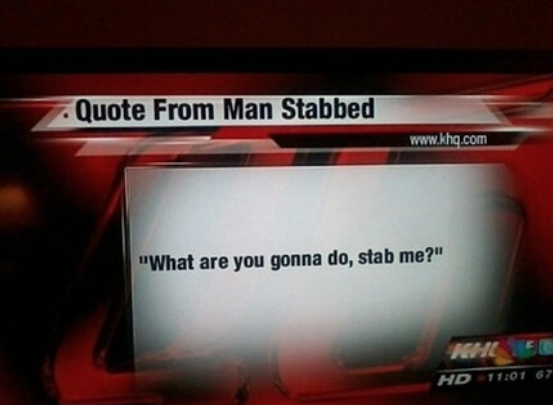 Quote from a man stabbed.. http://t.co/poertgEBbW