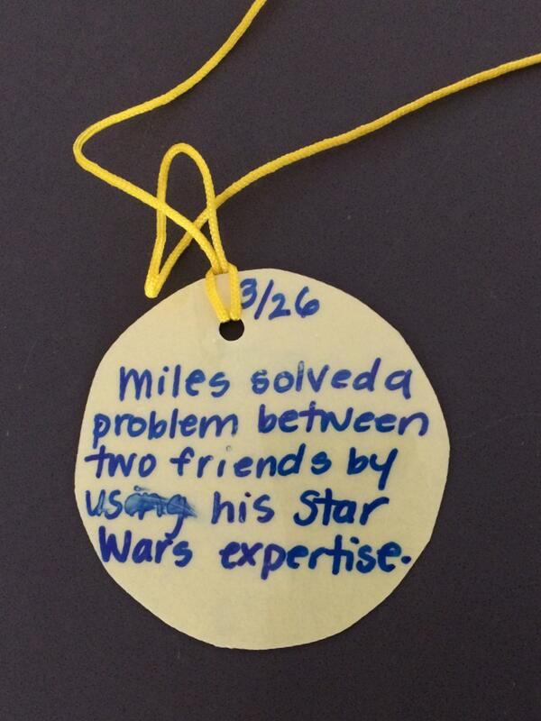 Issued: Hero Badge for @miles from school. http://t.co/1JO6Qk1qIa